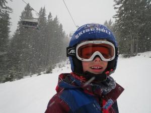 Kinderskibril oogbescherming