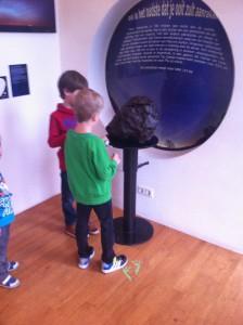 Meteoriet bij Sterrenwacht Utrecht