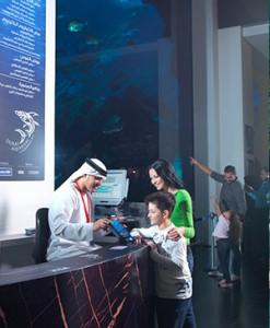 Dubai met kinderen aquarium