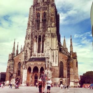 Ulm stedentrip kinderen