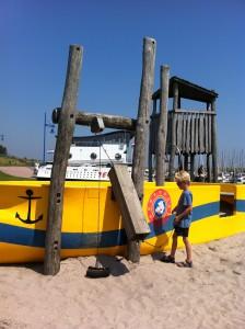 Piratenschip in Oudeschild op Texel