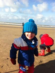 Dagje strand met kinderen