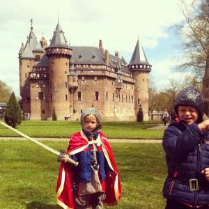 kasteel bezoeken met kind, kasteel de Haar