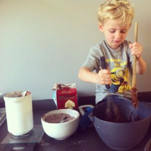 koekjes bakken met kind