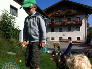 Vakantievoorbereidingen met kinderen